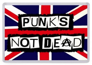 Punk's Not Dead Fridge Magnet. Music Memorabilia. The Sex Pistols etc